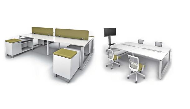 Avail Bench Versatile Office Workstation