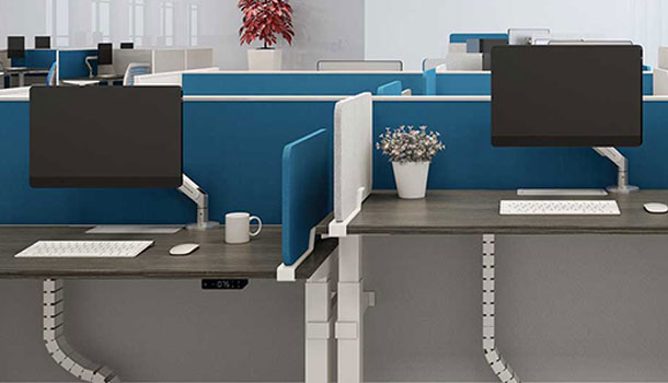Avail Functional Versatility Height Adjustable Desk by HNI India