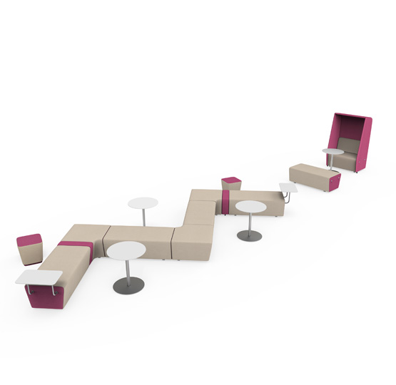 Meta Collaborative Office Sofa By HNI India